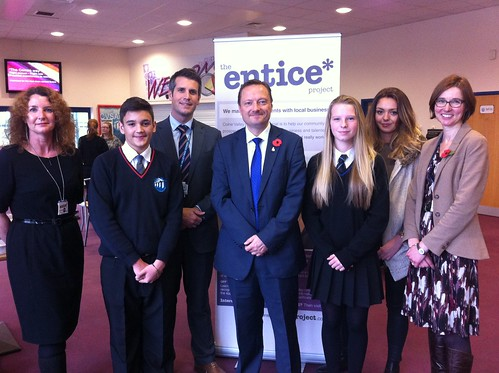 Entice Apprenticeship Project Launch at Colne Valley High School