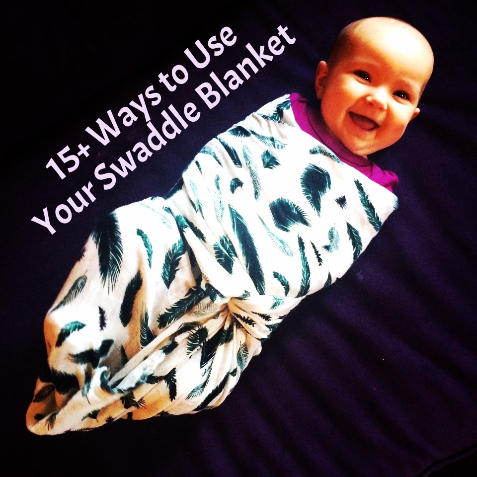 Alternative uses for your baby swaddle blanket