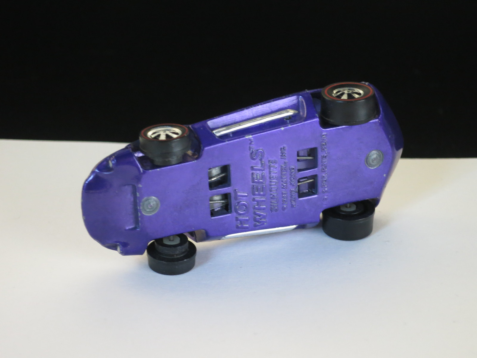 Hot Wheels Redline Purple Silhouette HK Painted Lights Early Production
