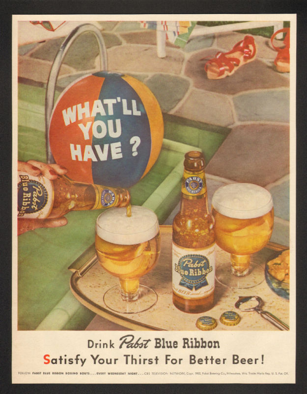 Pabst-1952-pool
