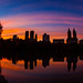 Sunset in Central Park New York City by Anthony Quintano