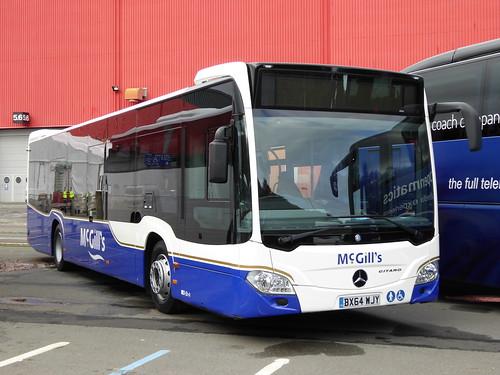 Euro Bus Expo - McGills Citaro