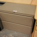 Low 2 door filing cabinet