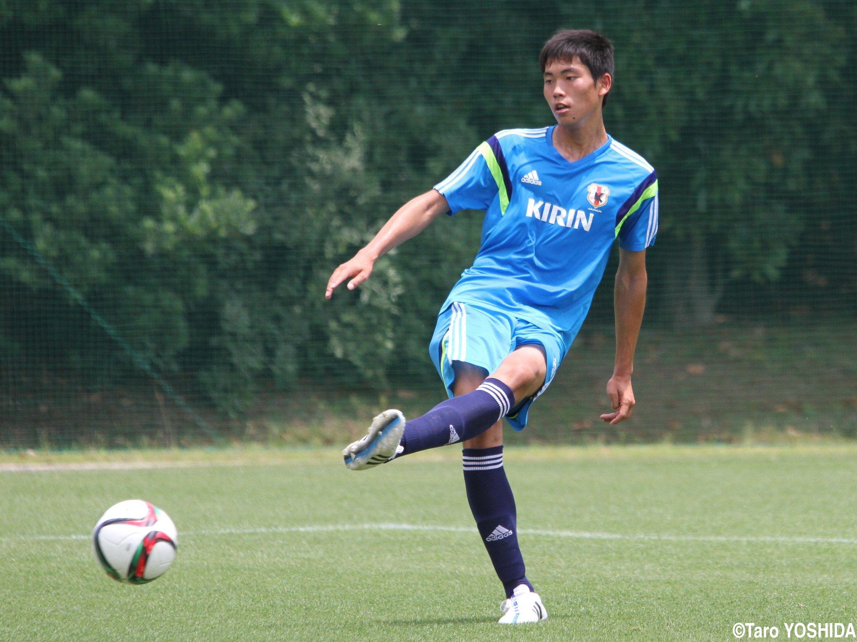 U-18日本代表 町田くん・久保田和音、練習風景 - 鹿島 ...