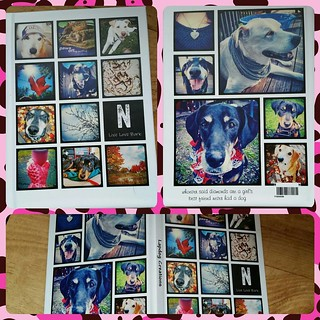 Absolutely LOVE my new hardbound notebook made at @shutterfly using my IG pics. #dogstagram #knitstagram #thingsilove  #personalized #personalizednotebook #myphotos #shutterfly #knittersofinstagram #dogsofinstagram #journal #notebook