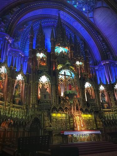 Notre Dame Basilica - Old Montreal, Quebec