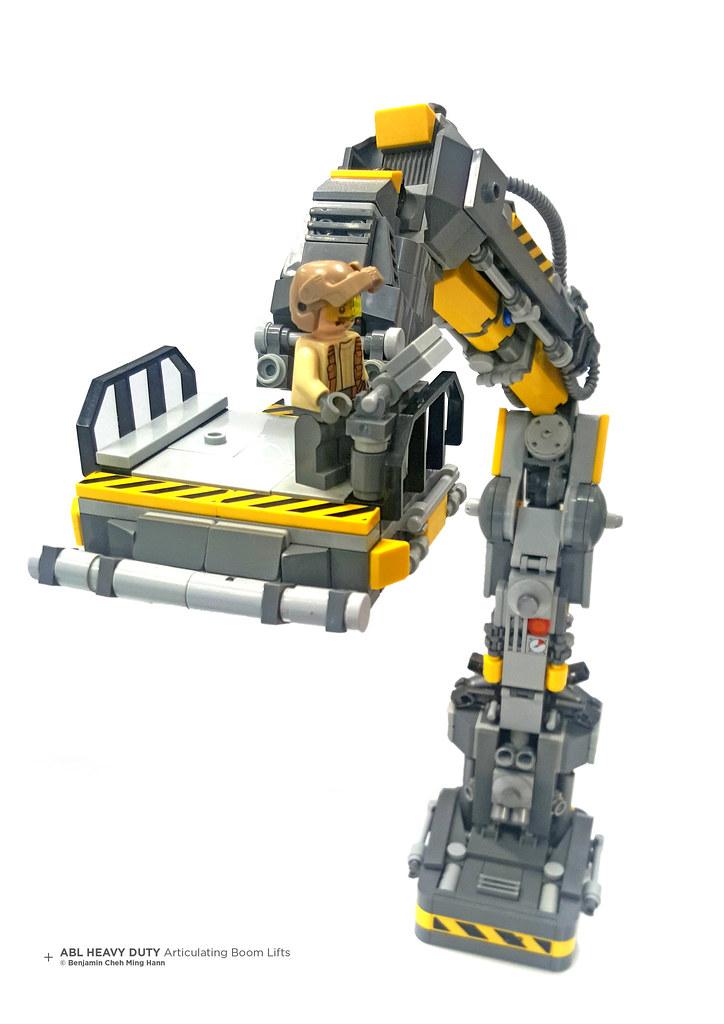 ABL Heavy Duty Articulating Boom Lifts (custom built Lego model)