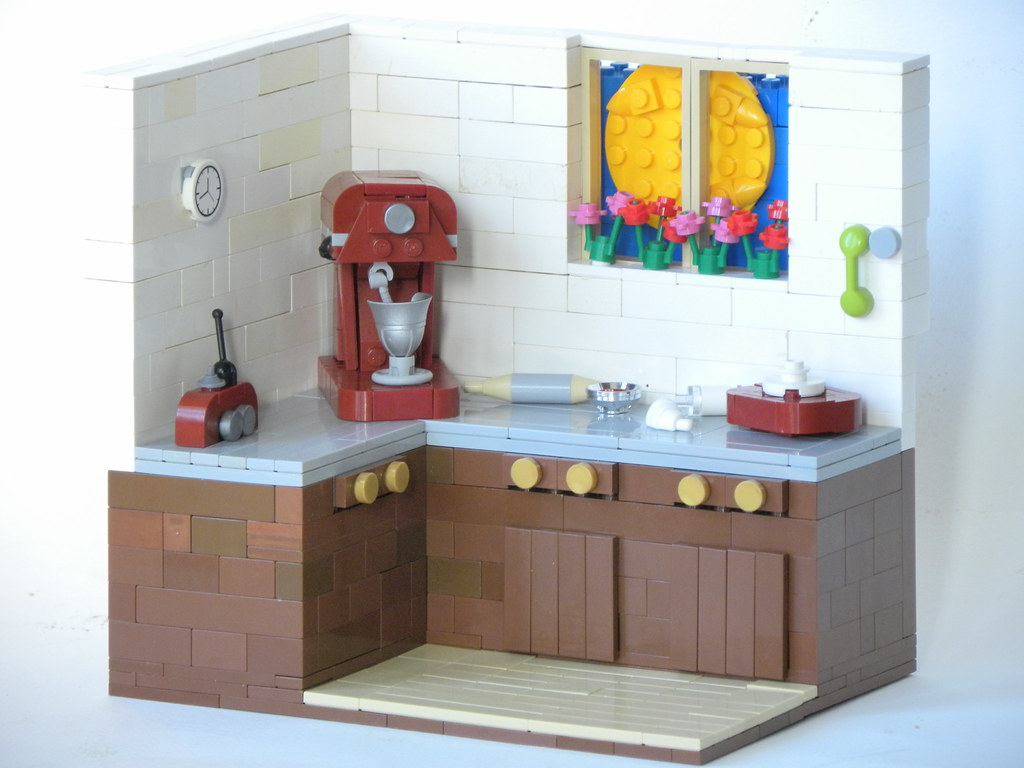 A Baker's Dream (custom built Lego model)
