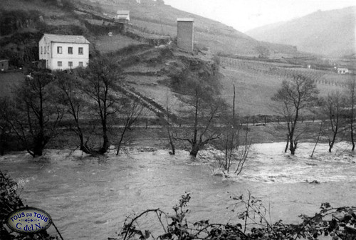 1965 - Crecida en Obanca