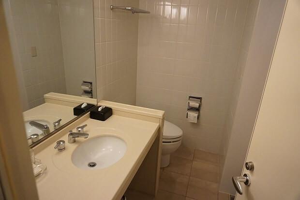 170325 ヒルトン成田デラックスプラスクイーントイレ