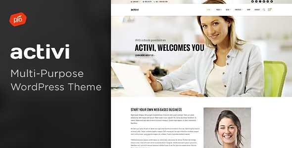 Activi WordPress Theme free download