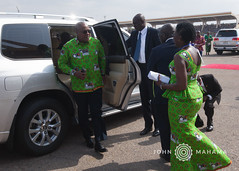HE John Mahama attends 60th Independence Anniversary Parade