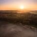 Coucher de soleil au dessus de l'Artois by jeje62