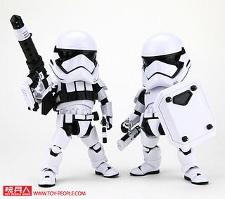 Egg Attack Action《星際大戰:原力覺醒》EAA-015R 第一軍團鎮暴突擊兵 & EAA-015H 第一軍團重裝突擊兵 開箱報告