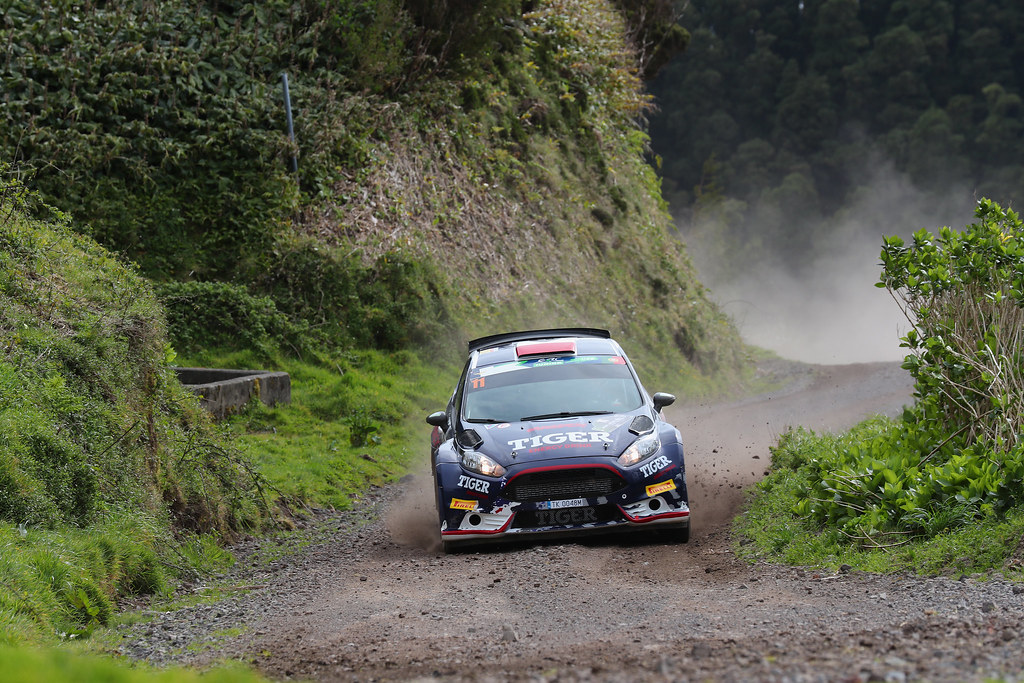 11 KASPERCZYK Tomasz  SYTY Damian Ford Fiesta R5 Action during the 2017 European Rally Championship ERC Azores rally,  from March 30  to April 1, at Ponta Delgada Portugal - Photo Gregory Lenormand / DPPI