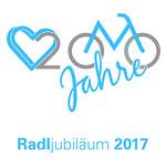 Logo Radljubiläum Radlhauptstadt München