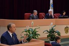 Валерий Радаев выступил с отчетом в Саратовской областной думе