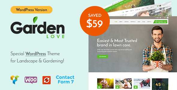 GardenLove WordPress Theme free download