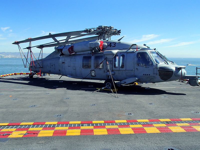 SH-60 Seahawk Helicopter aboard USS AMERICA (LHA-6)