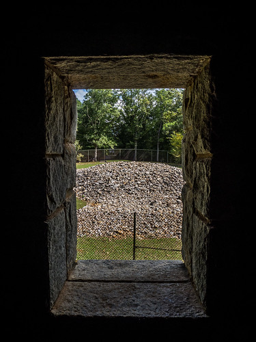 Rock Eagle Tower Window