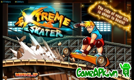 Extreme Skater v1.0.6 hack full tiền xu cho Android