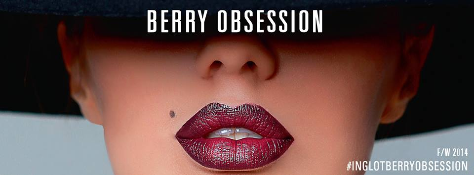 Inglot Berry Obsession Collection