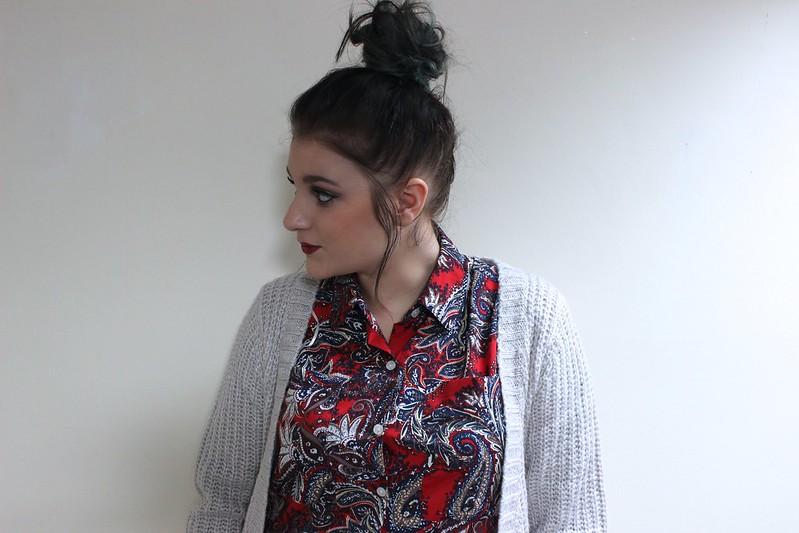 Paisley Shirt OOTD