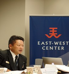 RADM Yuki Sekiguchi discusses Japan's strategic culture from the perspective of his own experiences in Japan's Self Defense Force.