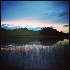 Chiloé lo tiene todo: la tranquila laguna Quinched.