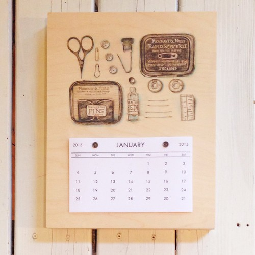 Merchant and Mills Repair Kit-2015 Calendar