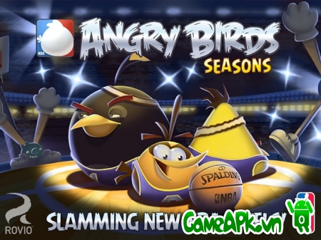 Angry Birds Seasons v4.3.3 hack full items cho Android