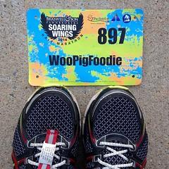 Soaring Wings Half Marathon. WooPigFoodie is in the hooooouuuusssse!