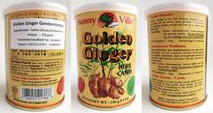 Golden Ginger Gembersnoepjes