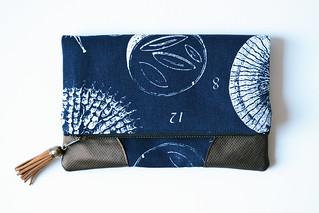 Botanics Fabric Clutch