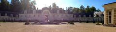 chateau de bizy courtyard panorama