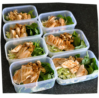 Meal Lunch Prepping