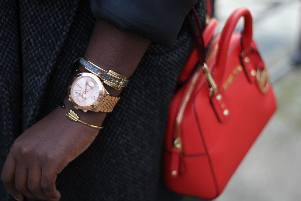 Michael Kors watch rose gold lisforlois