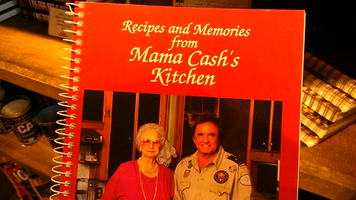 Johnny cash cookbook