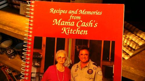 Johnny cash cookbook