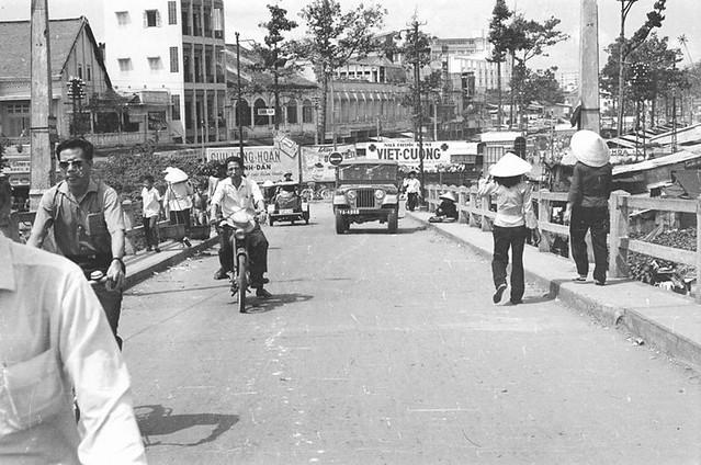 SAIGON 1965-66 - Cầu Ông Lãnh - Bến Chương Dương