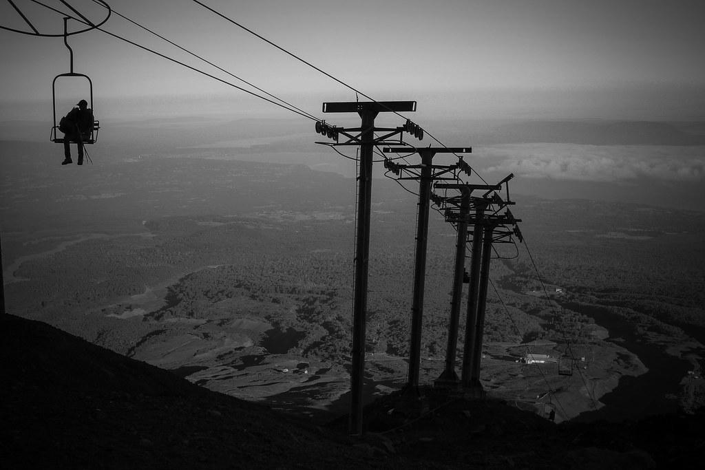 Encima de Volcan Villarrica