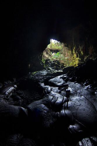 hawaii cave bigisland hilo kaumana
