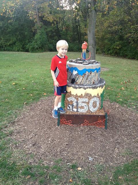 We found a cake!