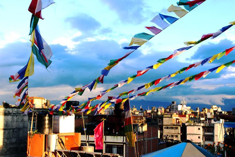 Kathmandu rooftop