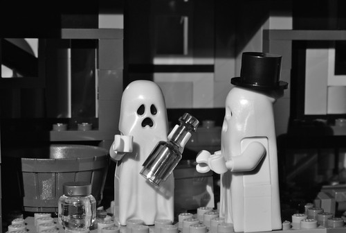 The Ghosts know how to party!