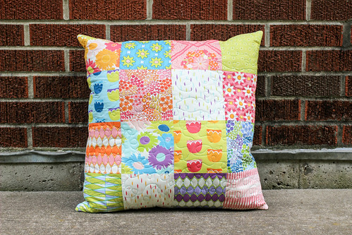 Dreamin' Vintage Patchwork Pillow