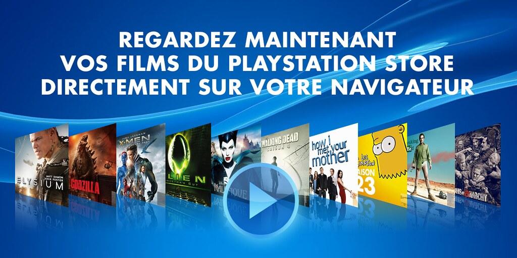 PlayStation Store films sur le web