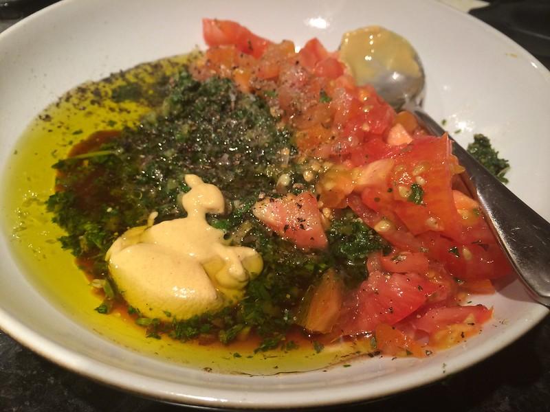 Salsa Verde : Add the mustard
