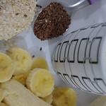 Vitamina de Banana com Linhaça