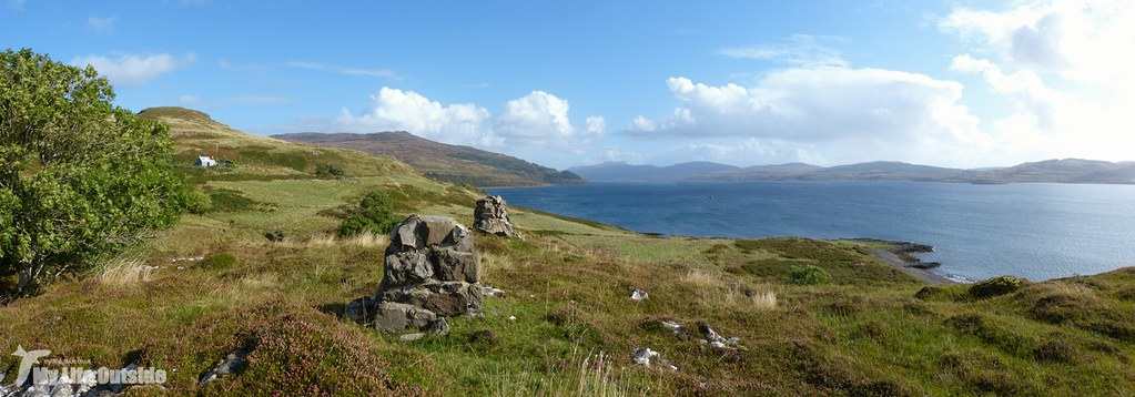 - Walk to MacCulloch's Fossil Tree, Isle of Mull